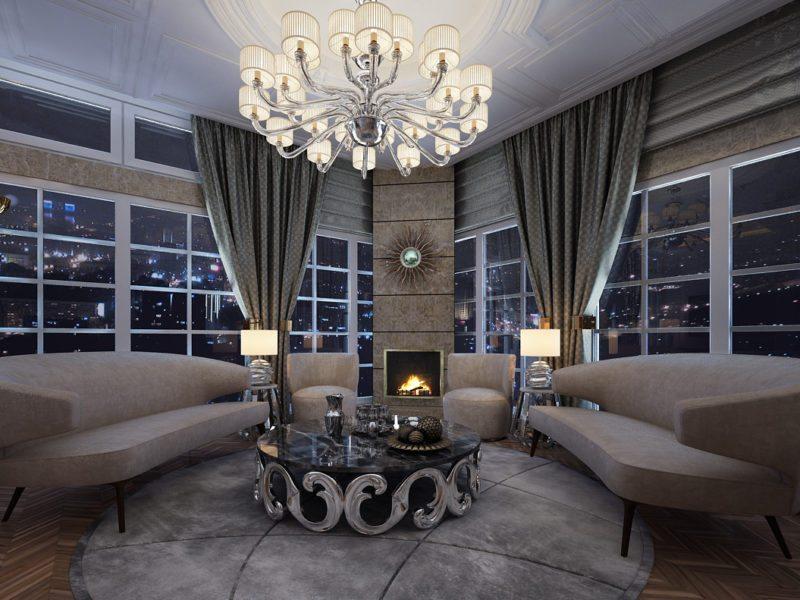 Дизайн интерьера квартир и коттеджей в Астане Студия дизайна  Терасса