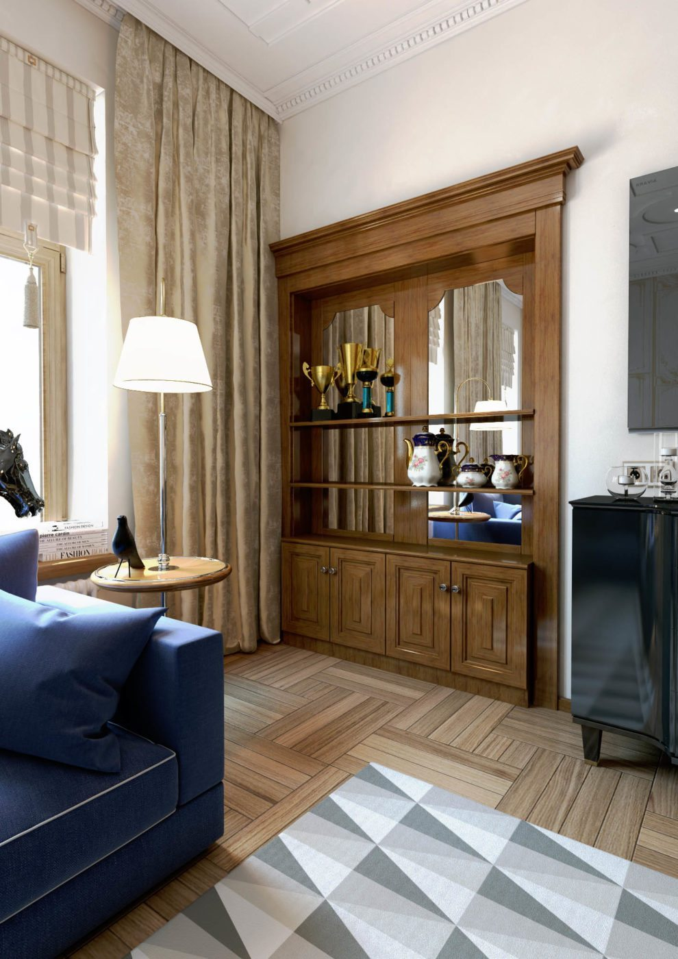 Дизайн интерьера квартир и коттеджей в Астане