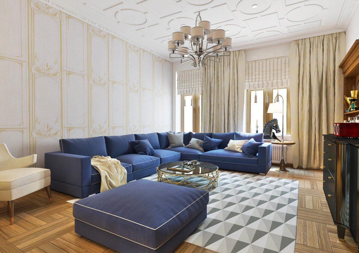 Дизайн квартиры Серика Сапиева