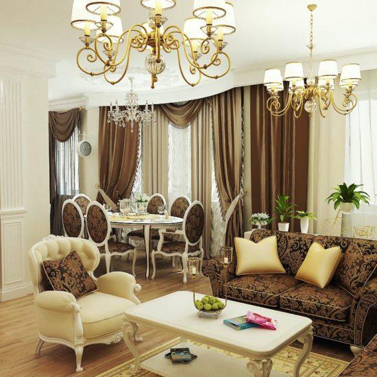 Дизайн интерьера квартир в Астане