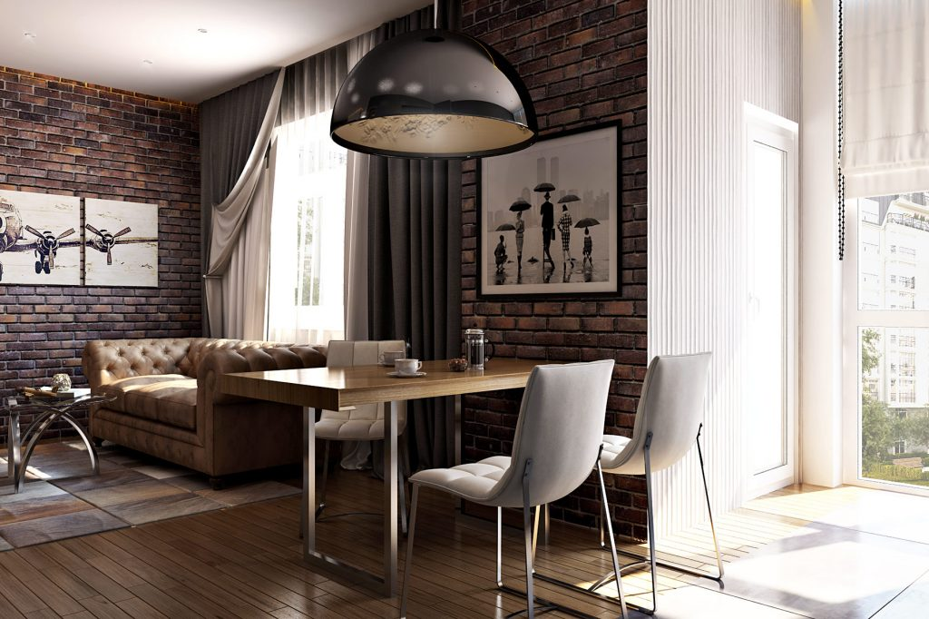 Дизайн интерьера квартиры в ЖК Арман кала