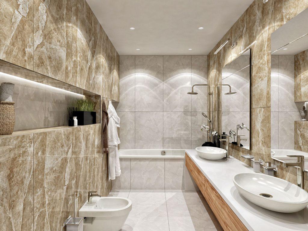 Wyndham garden Астана - апартаменты ванная