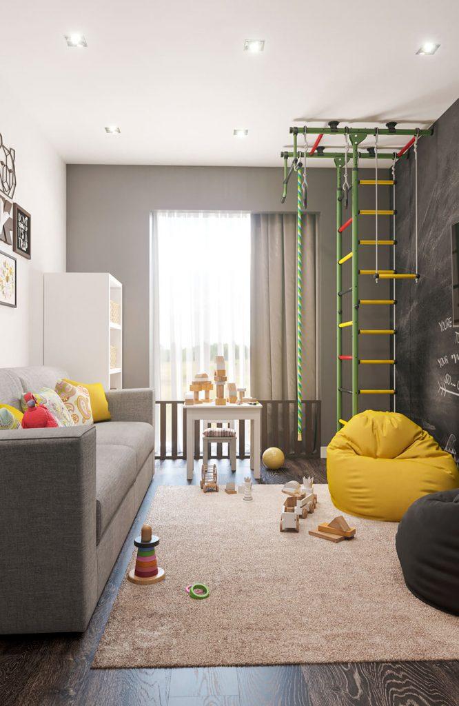 Детская квартира в жк Арман Кала
