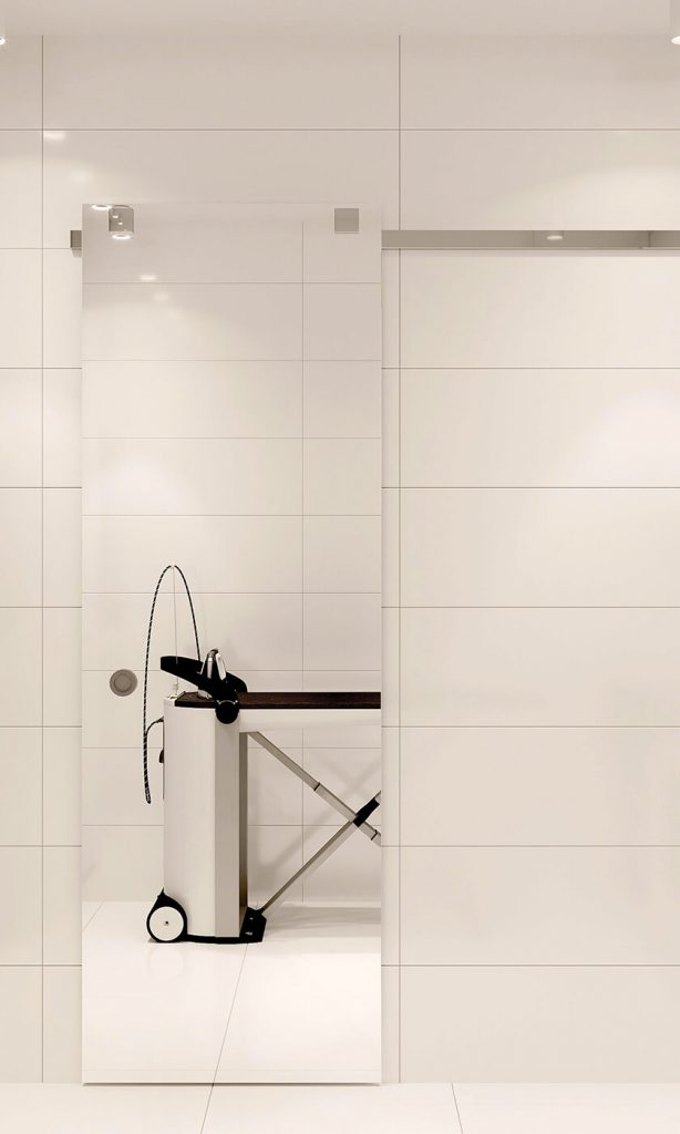 Прачечная комната квартира ЖК Триуфм Астана. Дизайн интерьера