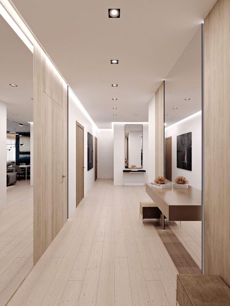 Дизайн интерьера квартиры в ЖК Парк авеню