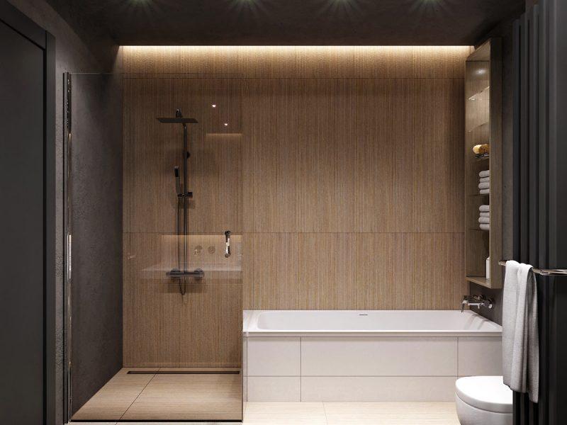 Жк Времена года, интерьер ванной комнаты