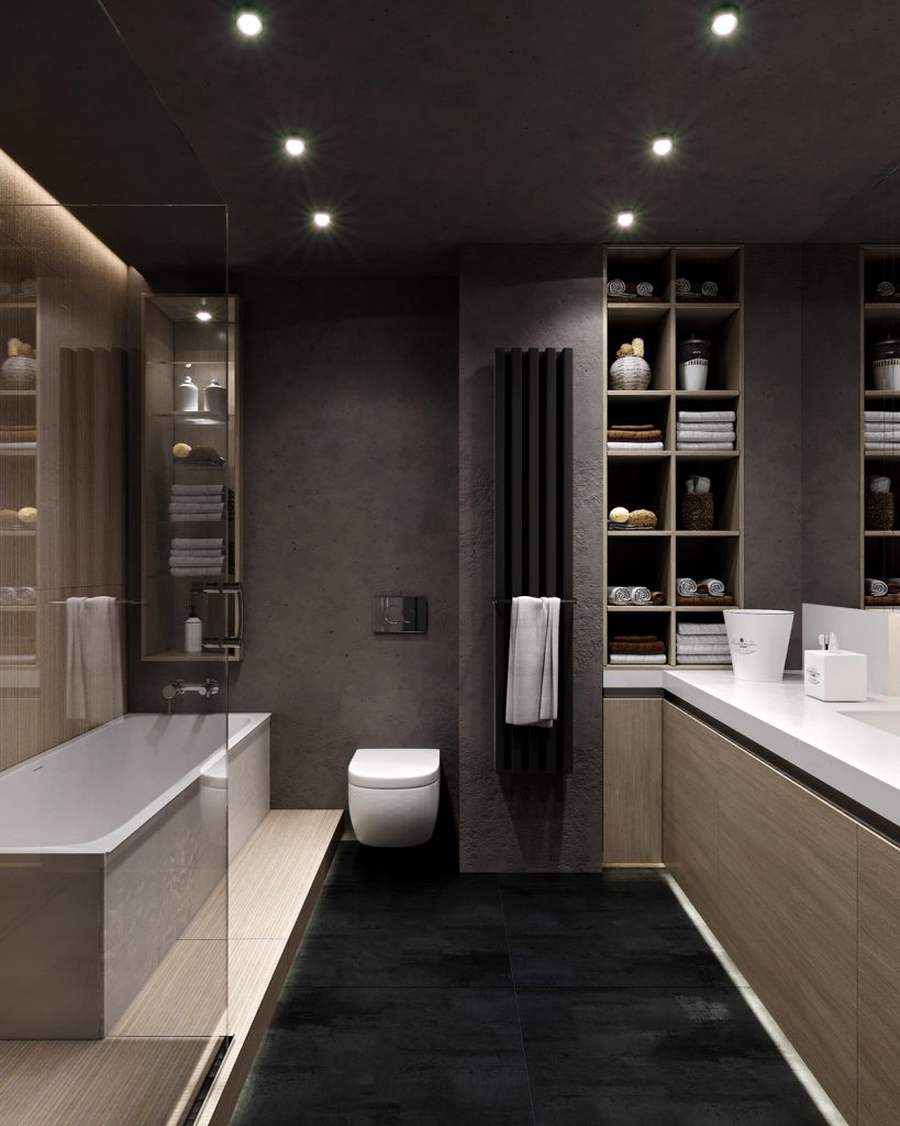 Ванная комната ЖК Времена года