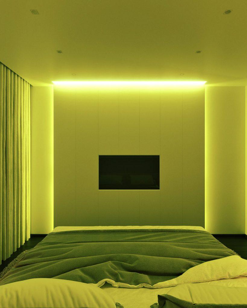 Спальная комната ЖК Времена года