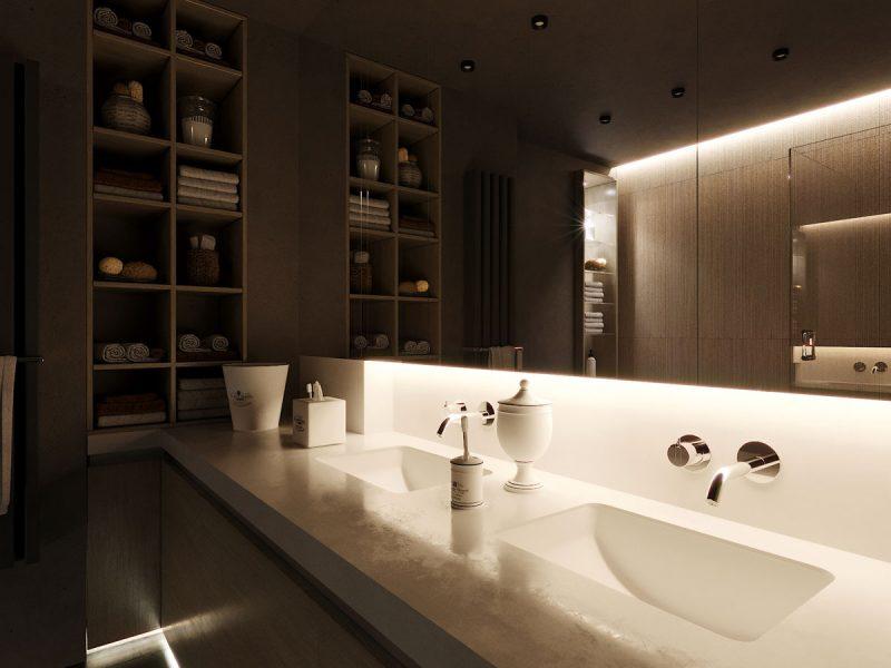Ванная комната ЖК «Времена года»