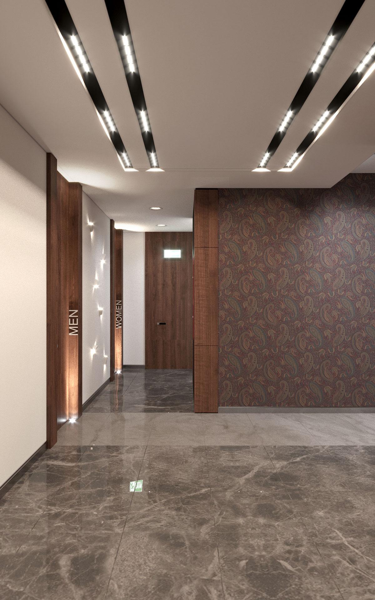 Бизнес центр Downtown Астана 1 этаж
