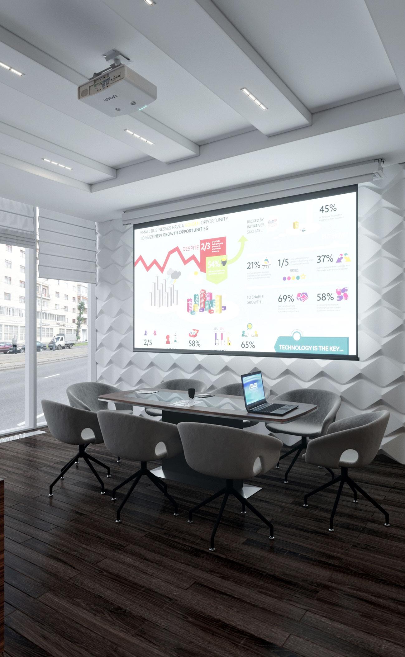 Бизнес центр Downtown Астана - кабинеты