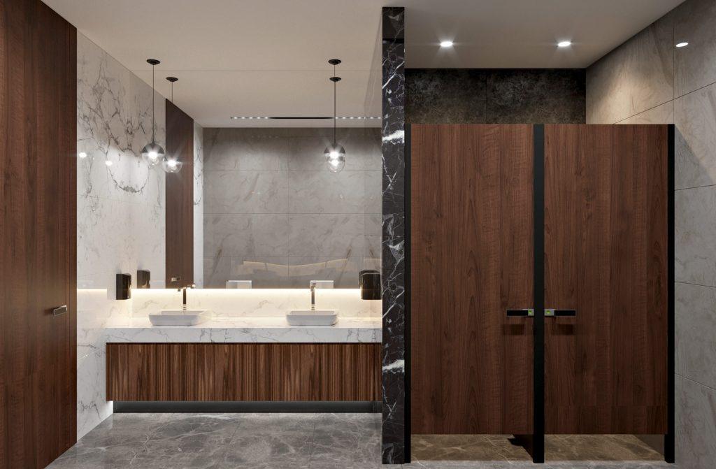 Бизнес центр Downtown Астана - Туалетная комната женская
