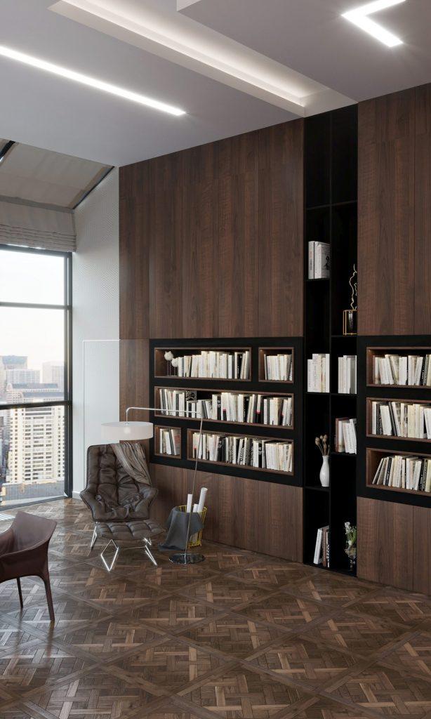 Офис компании в бизнес центре Downtown - Кабинет директора