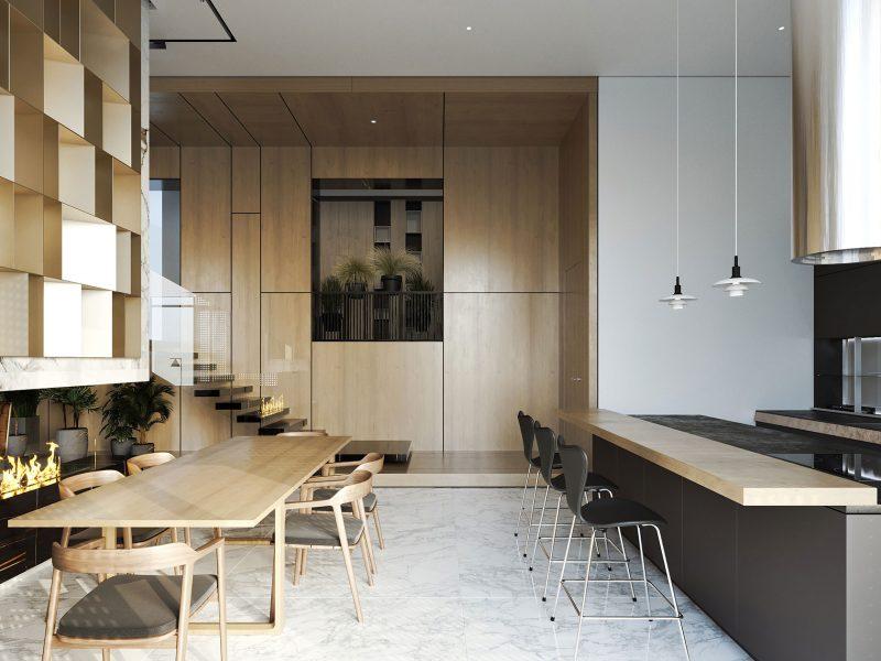 Кухня - Квартира в клубном доме 5 Element