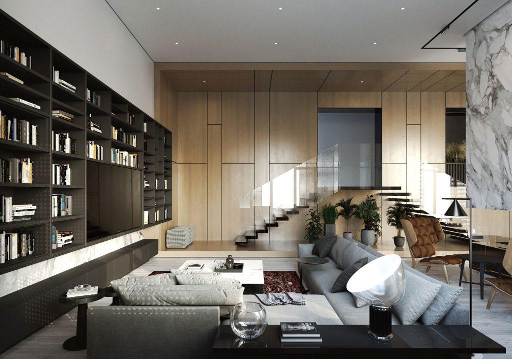Гостиная - Квартира в клубном доме 5 Element