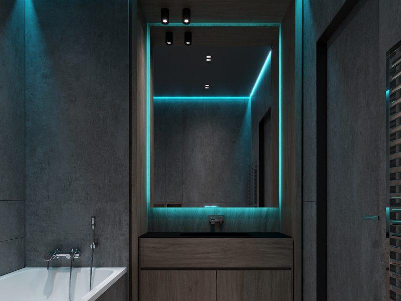 Дизайн квартиры в ЖК Park house - Гостевой СУ